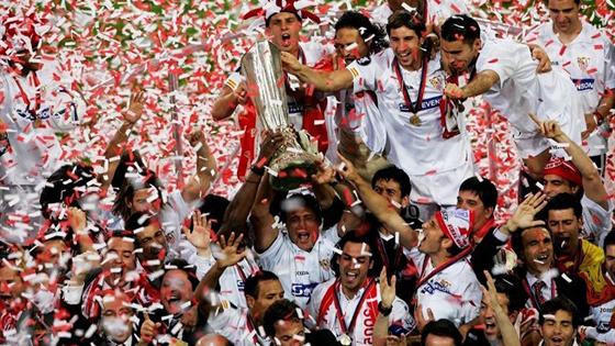 サッカーのヨーロッパリーグ決勝がイタリアのトリノでセビージャとベンフィカ戦が行われました。PKでセビージャが勝利し、見事優勝しました。