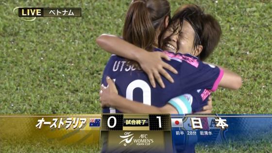 なでしこジャパン、2014年女子アジアカップ決勝でオーストラリアを下し初優勝!念願のアジア制覇
