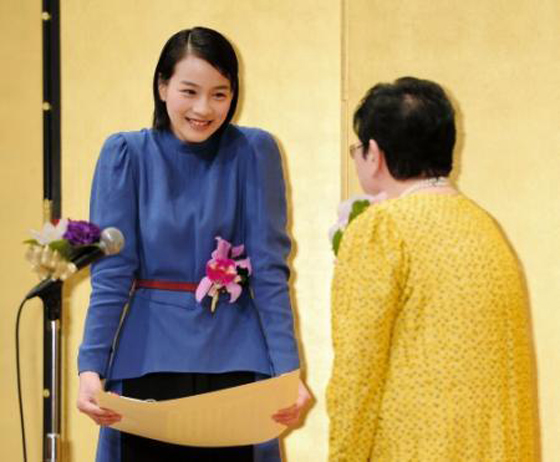 第22回橋田賞を「あまちゃん」が受賞。表彰した橋田氏が仰天告白「『あまちゃん』見たことない」