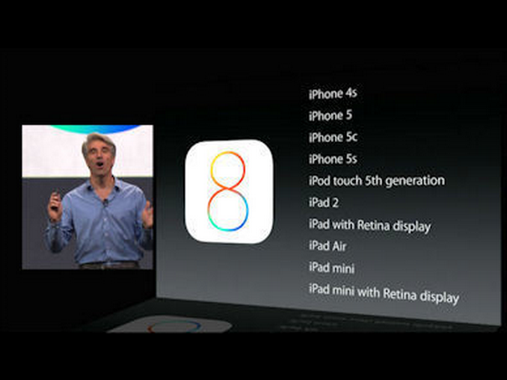 Apple「iOS8」を発表 今秋よりリリース開始! 気になる機能は?