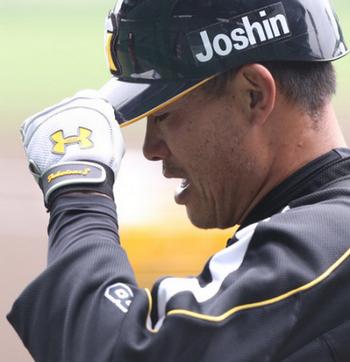 阪神・福留孝介外野手 打率1割台の不振で登録抹消