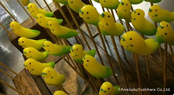 飴が可愛すぎる!?これでは食べられないではないか!「小鳥カフェ」があめ細工吉原とのコラボスイーツ発売