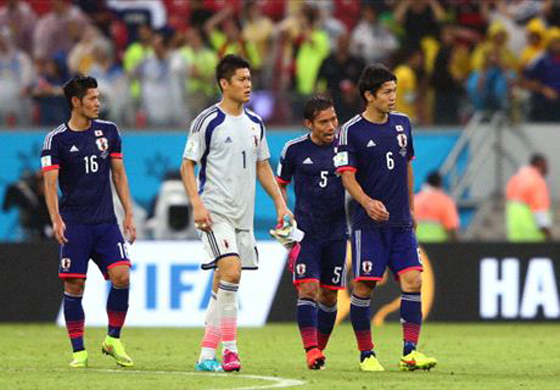 ワールドカップ2014年ブラジル大会第2戦日本vsギリシャで、日本は痛恨のドロー 予選突破に首の皮一枚つなぐが…厳しい条件