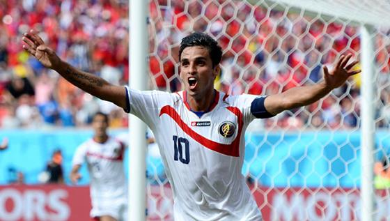 コスタリカ旋風!FIFAワールドカップ2014年ブラジル大会、決勝トーナメント1回戦でギリシャも下し、初のベスト8!今大会のダークホース