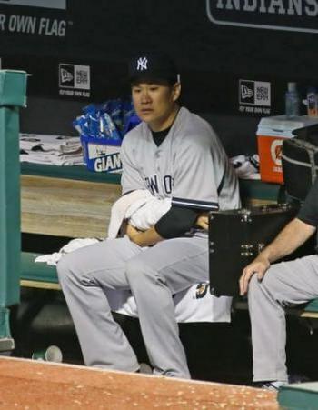 マー君ことヤンキース田中将大投手 右肘じん帯の部分断裂 「一日でも早く復帰」とコメント発表