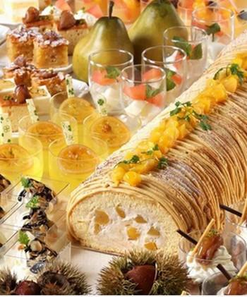 魅力のマロン&洋梨を使ったスイーツが時間無制限で食べ放題だとっ!?予約必須の横浜ベイシェラトンの期間限定ナイトブッフェ