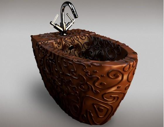 何これチョコ!?お風呂!?インテリア!?一生分のベルギーチョコで作ったバスルームが素敵すぎると話題に