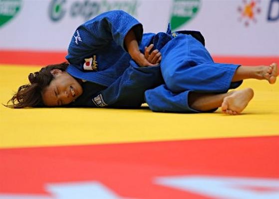世界柔道 松本薫 2回戦敗退 腕ひしぎ十字固めで24秒