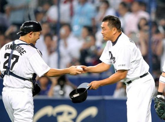 中日 山本昌 49歳で史上最年長勝利 5回5安打無失点
