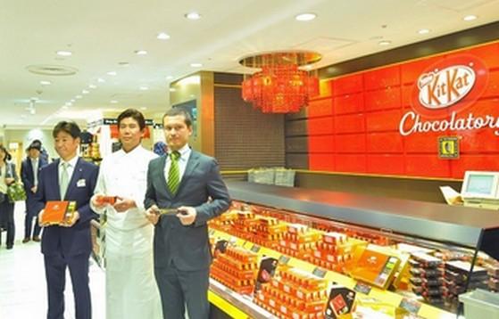あの「キットカット 」のショコラトリーがオープン!?開店と同時に行列、数量限定商品も。名古屋